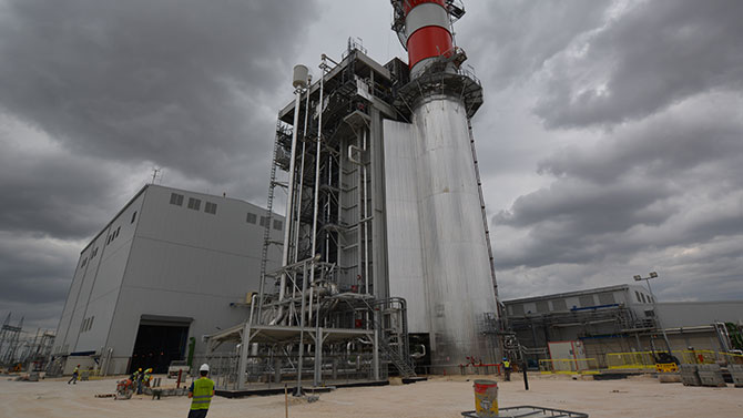 HEAŞ Hamitabat Combined Naturalgas Power Plant